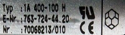AEG Thyro-A 1A 400-100 H -used- – Bild 2