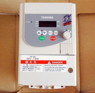 Toshiba VFS9-2015PM-WP(1) 3PH 200/230V 7,8A 3,0kVA Umrichter -unused/OVP- – Bild 4