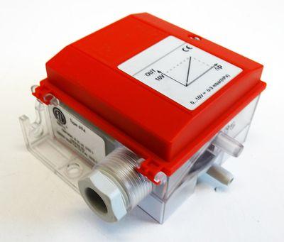 Huba Control 694.912011012 13.5-33 VDC / 24 VAC Diff. Druck-Transmitter -used- – Bild 1