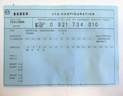 Bosch RM65V-16IBS-I 1827030156 Interbus +1x 0820224004 Ventil -unused- – Bild 5