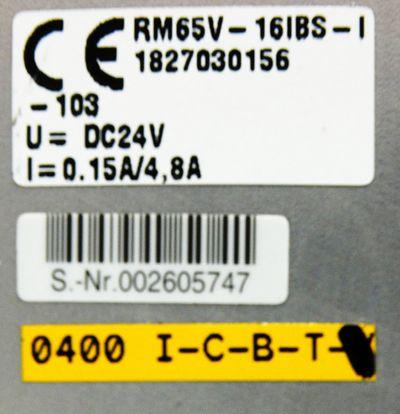 Bosch 0821 738 084 + RM65V-16IBS-I 1827030156 DC 24V + 4x Ventil -unused- – Bild 3