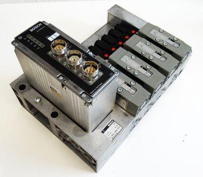 Bosch 0821 696 002 + RM65V-16IBS-I 1827030156-02 Interbus + 4x Ventil -unused- – Bild 1