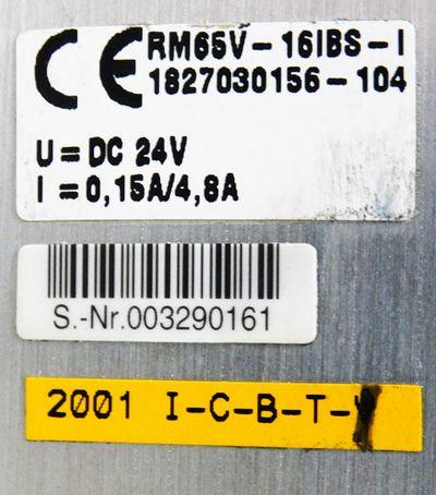 Bosch 0821 734 115 + RM65V-16IBS-I 1827030156-104 Interbus + 6x Ventil -unused-  – Bild 3