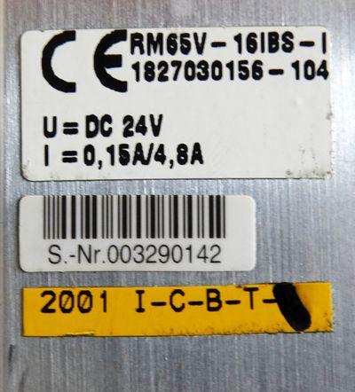 Bosch 0821 734 115 + RM65V-16IBS-I 1827030156-104 Interbus + 7x Ventil -unused-  – Bild 3