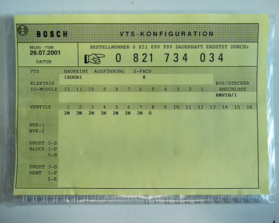 Bosch 0821 734 115 + RM65V-16IBS-I 1827030156-104 Interbus + 7x Ventil -unused-  – Bild 5