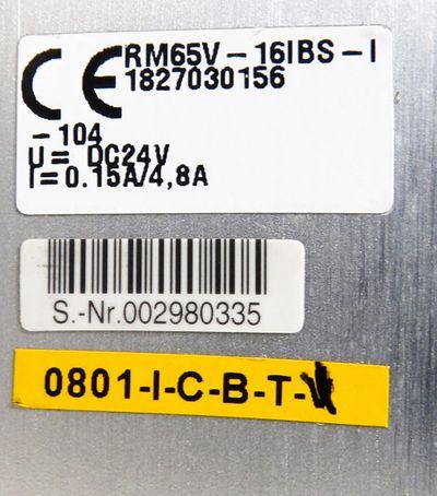 Bosch 0821 734 028 + RM65V-16IBS-I 1827030156 Interbus + 5x Ventil -unused-  – Bild 3