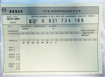 Bosch 0821 734 189 RM65V-16IBS-I 1827030156-104 Interbus + 6x Ventil -unused-  – Bild 5