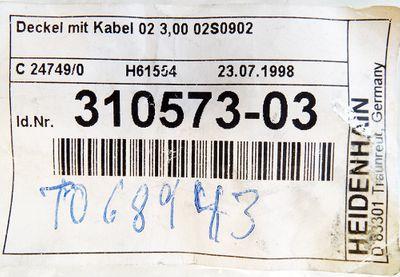 Heidenhain 310573-03 Meßstab Anschlusskabel 3,00 02S0902 -unused- – Bild 2