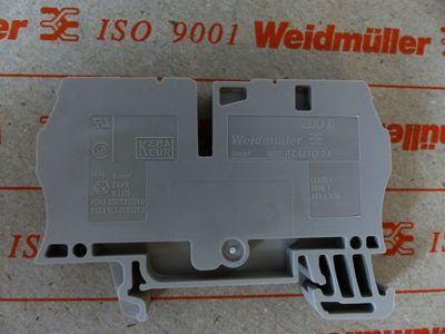 50x Weidmüller ZDU 6 ZDU6 1608620000 Reihenklemme -unused/OVP- – Bild 3