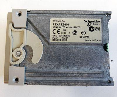 Schneider TSX MICRO TSXASZ401 TSX ASZ401 1ANA.OUT +-10V 12 Bits -unused/OVP- – Bild 4