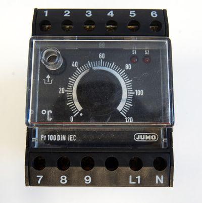 "JUMO 701130/0251-001-02/205,245,056 STW ""O"" 0-120 C 230VAC Temp. begrenzer -used – Bild 2"