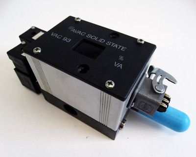 AUTOVAC 360 42700 Vakuumventil + AVAC Solid State VAC 93 24V -used- – Bild 1