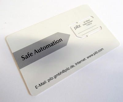 Pilz Safe Automation Nr. 779212 32KByte Chipkarte Chip Card -unused- – Bild 1