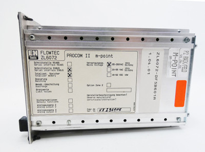 Endress+Hauser Flowtec ZL6072  ZL 6072  ZL6072-DF5B601A PROCOM II m-point -used- – Bild 3