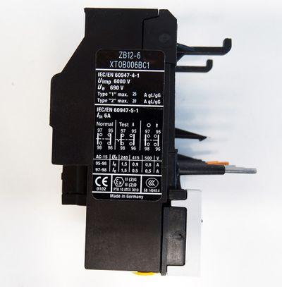 Eaton Moeller ZB12-6  ZB126 4-6A Motorschutzrelais -unused/OVP- – Bild 4