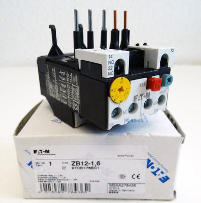Eaton Moeller ZB12-1,6  1 - 1,6A Motorschutzrelais -unused/OVP- – Bild 1