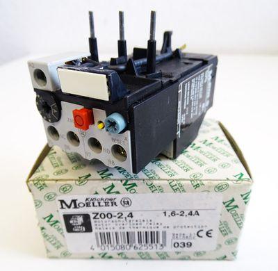 Klöckner Moeller Z00-2,4  1,6 - 2,4A Motorschutzrelais -unused/OVP- – Bild 1