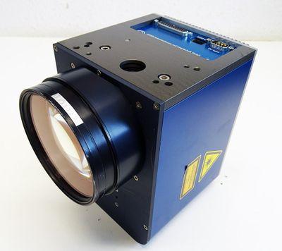 ARGES RACOON Laser Scan Head Laserkopf + Rodenstock F-Theta-Ronar F=163mm -used- – Bild 1