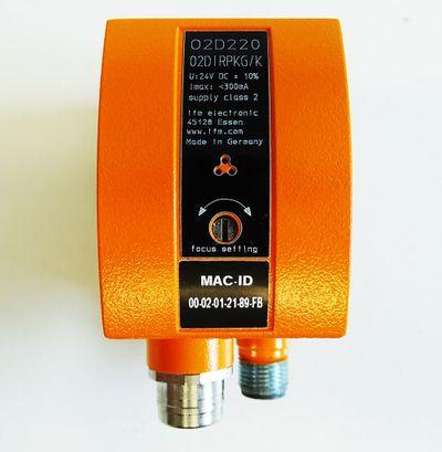 Ifm Electronic O2D220 O2DIRPKG/K 24V DC Objekterkennungssensor -used-  – Bild 3