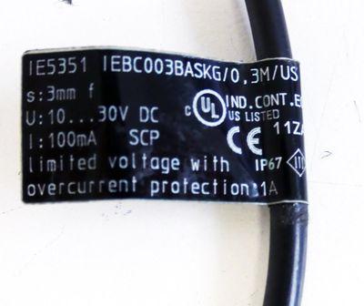 Ifm Electronic IE5351 IEBC003BASKG/0,3M/US Induktiver Sensor -used- – Bild 3