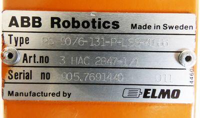 ABB Robotics Elmo PS 90/6-131-P-LSS-4166 3HAC 2847-1/1 Servomotor -used- – Bild 3
