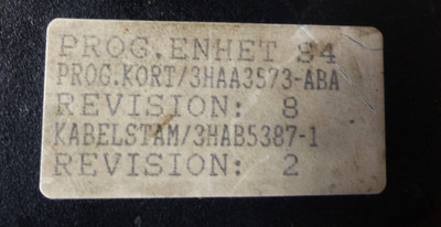 ABB 3HAA3573-ABA Rev. 8 Prog.Einheit S4 + 3HAB5387-1 Rev. 2 opt. Defekte -used- – Bild 2