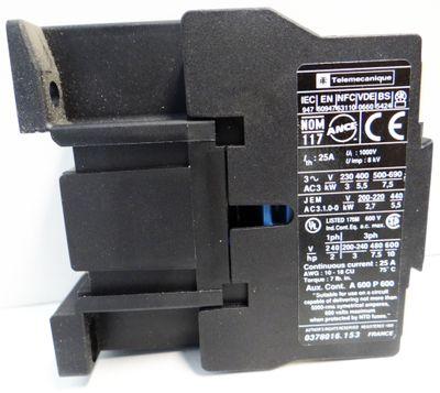 Telemecanique LC1D12004F7 023351 Contactor Schütz 5.5kW-400V -unused/OVP- – Bild 2