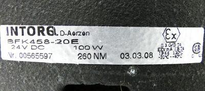 INTORQ Lenze BFK458-20E 00565597 Magnetteil 24V DC 100W 260NM -unused- – Bild 3