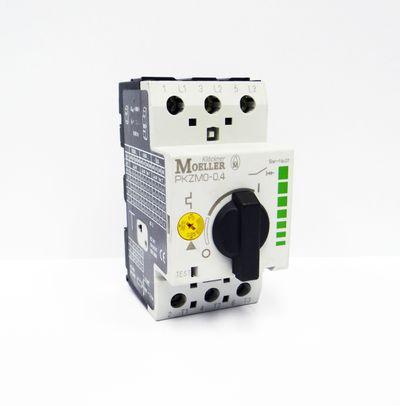Moeller PKZM0-0,4 PKZM0 - 0,4 Ser.-No.01 Motorschutzschalter -used- – Bild 1