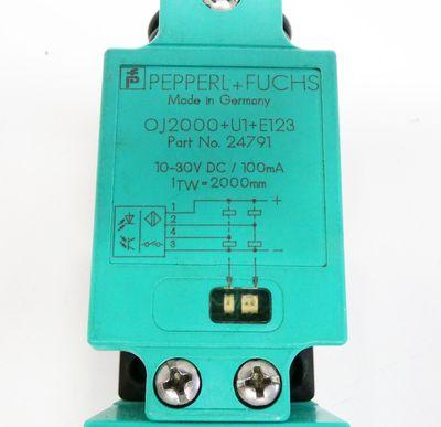 Pepperl+Fuchs OJ2000+U1+E123 24791 Reflexions-Lichttaster -used- – Bild 3