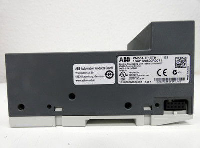 ABB PM554-TP-ETH B1 1SAP120600R0071 8DI/6DO 24VDC CPU 128kB Ethernet -unused/OVP – Bild 7