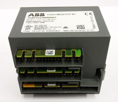 ABB CI521 CI521-MODTCP B1  1SAP222100R0001 Modbus TCP Bus Modul -unused/OVP- – Bild 4