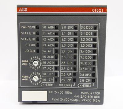 ABB CI521 CI521-MODTCP B1  1SAP222100R0001 Modbus TCP Bus Modul -unused/OVP- – Bild 2