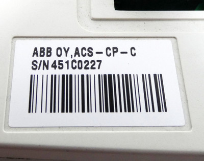 ABB OY, ACS-CP-C  ACSCPC Bedientafel Operator Panel -used- – Bild 3
