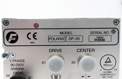FIFE MAXCESS Polaris DP-20 Web Guide Controller 60-250V 50/60Hz 130VA -unused- – Bild 4