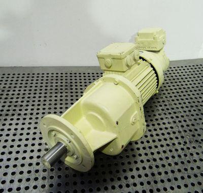 Bauer Gear Motor Eberhard Bauer G12-21/DK84-200L 0,75kW + GBR50GS -unused- – Bild 1