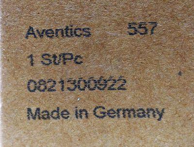 Aventics 0821300922 Druckluft-Wartungseinheit + Rexroth 1824210243 -unused/OVP- – Bild 3