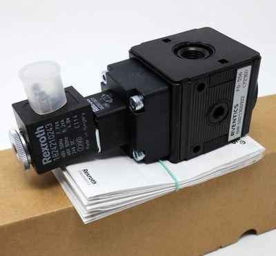 Aventics 0821300922 Druckluft-Wartungseinheit + Rexroth 1824210243 -unused/OVP- – Bild 1