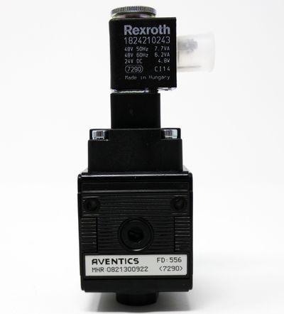 Aventics 0821300922 Druckluft-Wartungseinheit + Rexroth 1824210243 -unused/OVP- – Bild 2