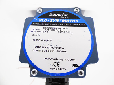 Superior Electric SLO-SYN KMT092F-111 3,25A Stepping Motor -unused- – Bild 4