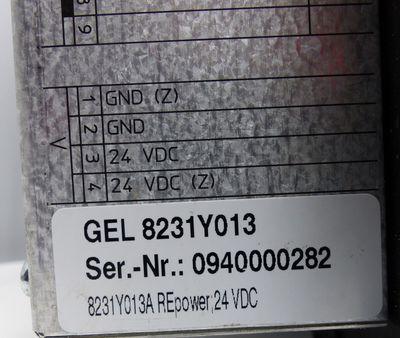Lenord + Bauer MotionLine GEL 8231Y013 Bedienpanel 24VDC -used/Displayfehler- – Bild 2