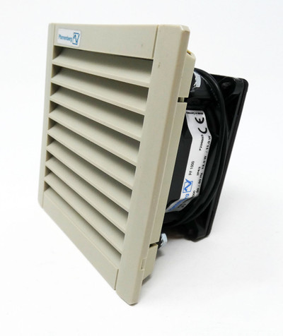 Pfannenberg PF 1000 PF1000 IP43 24V 50/60Hz 12W/11W Filterlüfter -used- – Bild 1