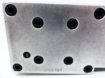 Bohrgetriebe Aluminium 266181 -used- – Bild 3
