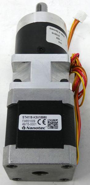 Nanotec ST4118L1804-A Schrittmotor + Nanotec GPLE40-1S-5 Getriebe -unused- – Bild 2