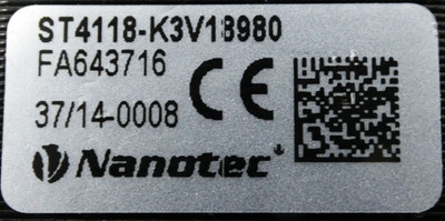 Nanotec ST4118L1804-A Schrittmotor + GPLE40-1S-5 Getriebe (M12-Stecker) -unused- – Bild 4