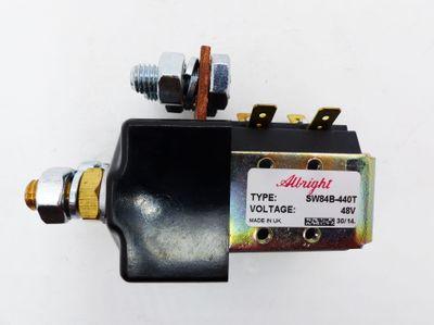 10x Albright SW84B-440T 48V Relais -unused/OVP- – Bild 5
