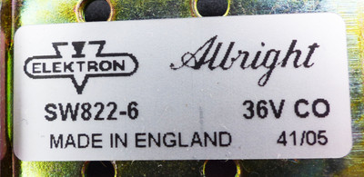 Albright SW822-6 36V CO Changeover Contactor -unused- – Bild 3