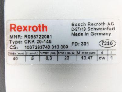 Rexroth CKK 20-145 CKK20-145 R055722061 Linearführung -used- – Bild 2