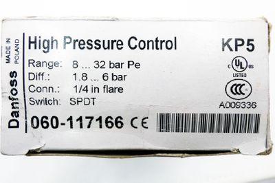 Danfoss KP5 060-117166 8 - 32 bar Pe Druckschalter -unused/OVP- – Bild 3