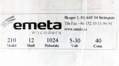 Emeta Encoders MA210 MA 210 5-30V 1024 Pulserate Drehgeber -unused/OVP- – Bild 3